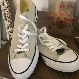 Converse All Star Lt, Khaki Sneaker, W 9, M 7 New